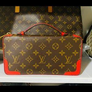 Authentic Louis Vuitton Monogram CERISE